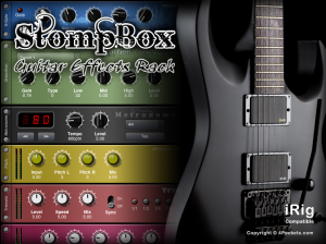 StompBox Guitar Effects App for iPad