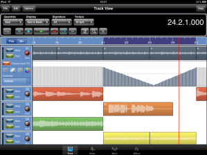 Meteor MultiTrack Recorder for iPad