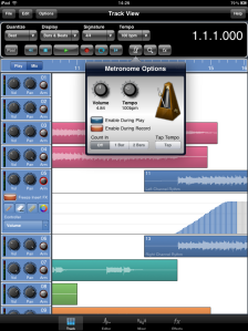 Meteor MultiTrack Recorder for the iPad
