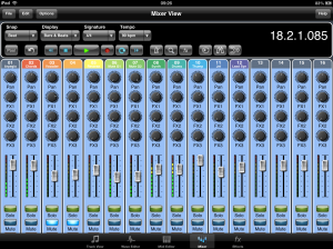 Meteor iPad DAW now offers users 16 - 24 Tracks