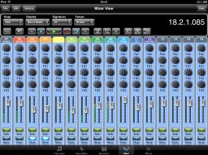 Meteor iPad DAW now offers users 16 - 24 Tracks