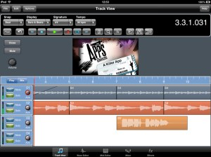 Meteor DAW for iPad Video Import Function