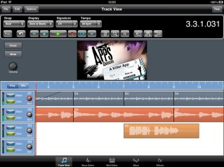 Meteor iPad Daw Video Import