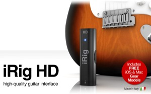 iRig HD 1st Prize in StompBox competition